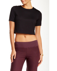 Three Dots Double Layer Crop Top
