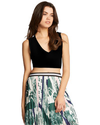 Kiind Of Christina Cutout Crop Tank