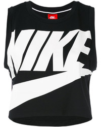 Nike Logo Cropped Tank Top