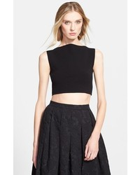 Michael Kors Michl Kors Boatneck Crop Top