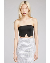 Forever 21 Notched Crop Top