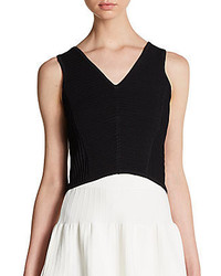 Sam Edelman Ottoman Crop Top