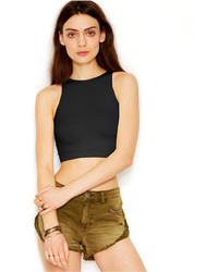 Free People Seamless High Neck Crop Top