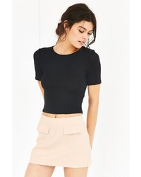 Silence & Noise Silence Noise Kylie Cropped Top