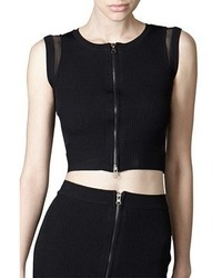 Stella And Jamie Dawn Cropped Top Black