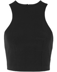 Alexander Wang T By Cropped Stretch Twill Top