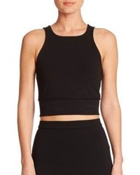 Theory Tenreg Ponte Crop Top