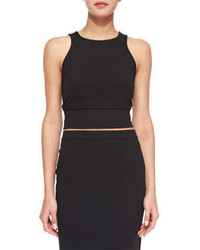 Theory Tenreg Sleeveless Crop Top