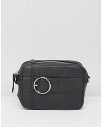 Asos Camera Buckle Cross Body Bag