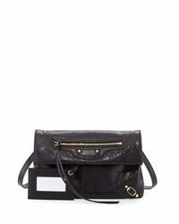 Balenciaga Classic Gold Mini Envelope Crossbody Bag