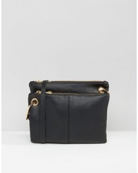 Asos Double Compartt Cross Body Bag