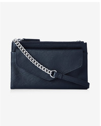 Express Double Zip Flap Front Cross Body Bag