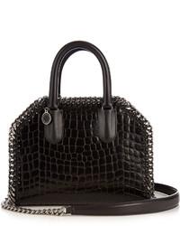 Stella McCartney Falabella Box Mini Faux Leather Cross Body Bag