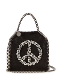 Stella McCartney Falabella Tiny Faux Suede Cross Body Bag