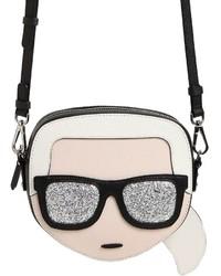 Karl Lagerfeld Kikonik Karl Face Crossbody Bag