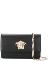 Versace Medusa Foldover Crossbody Bag