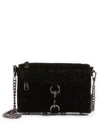 Mini mac velvet convertible crossbody bag black medium 4913158