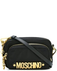 Moschino Letters Zipped Crossbody Bag