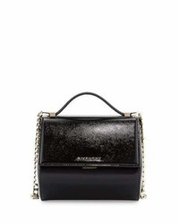 Givenchy Pandora Box Mini Crossbody Bag Black