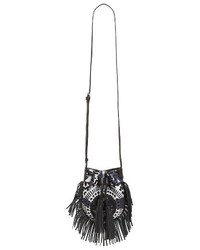 Rebecca Minkoff Revel Phone Crossbody Bag Black