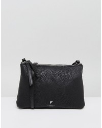 Fiorelli Simple Zip Top Cross Body Bag In Black