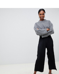 Asos Tall Asos Design Tall Plisse Culotte Trousers