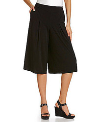 Blue Earth Wide Leg Culotte Pants