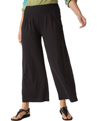 Royal Robbins Breeze Thru Culotte Jet Black Casual Bottoms