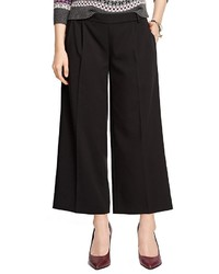 Brooks Brothers Wide Leg Cropped Pants
