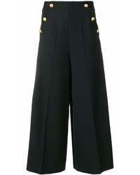 Lanvin Button Embellished Culottes