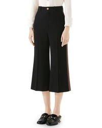 Gucci Cady Wide Leg Crop Pants