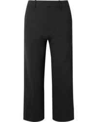 Co Cropped Woven Straight Leg Pants