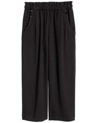 H&M Culottes With Ruffles