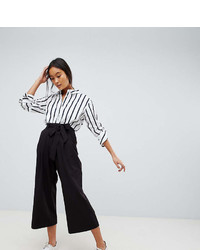 Asos Design Mix Match Culotte With Tie Waist