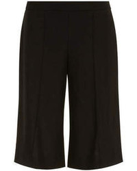 Dorothy Perkins Black Linen Culotte Trousers