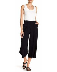 Good Luck Gem High Waist Linen Culotte Pants