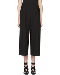 J.W.Anderson Jw Anderson Black High Waisted Culottes