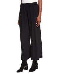 Vince Mid Rise Pull On Culotte Pants