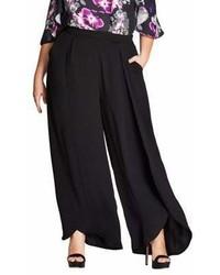 City Chic Plus Culottes Wide Leg Pants