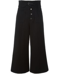 RED Valentino Cropped Wide Leg Trousers