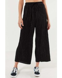 Silence & Noise Silence Noise Sasha Accordion Pleat Culotte Pant