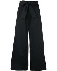 Saloni Wide Leg Bow Trousers