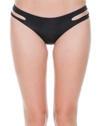 Black Cutout Bikini Pant