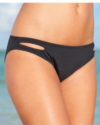 Bar III Banded Side Hipster Bikini Bottoms