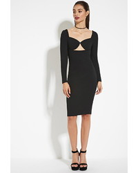 Forever 21 Tiger Mist Cutout Bodycon Dress