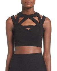 Missguided Cage Crop Top