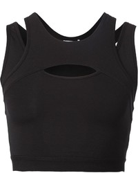 Helmut Lang Cutout Crop Top
