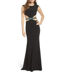 Embellished cutout gown medium 1151002
