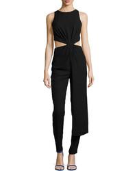 Black Cutout Jumpsuit