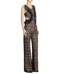43c1b0e26e7 ... Alexis Anka Lace Ruffle Side Cutout Jumpsuit